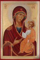 """25 февраля (12 февраля по с. с.) Икона Пресвятой Богородицы именуемая  """"Иверская """" Иверская икона Божией Матери..."""